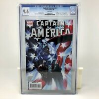 Captain America #34 Alex Ross Variant CGC 9.6 NM Bucky becomes Cap Marvel 2008