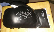 Manny Pacman Pacquiao Signed Boxing Glove Champion Future HOF
