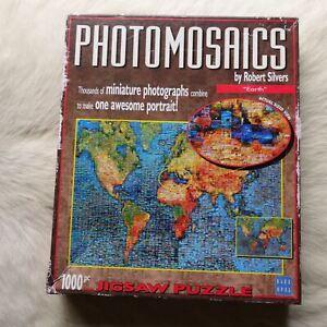 EARTH Photo Mosaics by Robert Silvers 1000 Jigsaw Puzzle MINIATURE Photographs