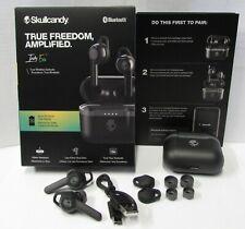 Skullcandy Indy Evo Black True Wireless Bluetooth Headphones New Open box
