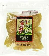4 Pack - Trader Joe's Crystallized Candied Ginger 8 oz each