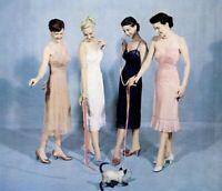 Vintage Black Van Raalte Nylon Half Slip Dress Nighty Size Small 32 Sissy Pin-Up