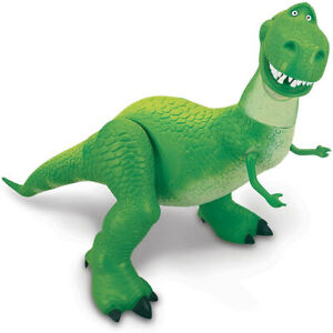 Disney Toy Story 4 Rex Dinosaur Action Figure Christmas Toy Pixar Kid's Poseable