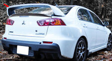 FOR 08-17 Mitsubishi Lancer S Only X Original EVO 10 Rear Trunk Spoiler Wing ABS