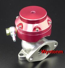 38MM 4 PSI External Wastegate Turbo Stainless Steel MINI Dump Valve Red II