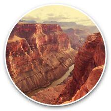2 x Vinyl Stickers 30cm - Grand Canyon America USA US  #45194