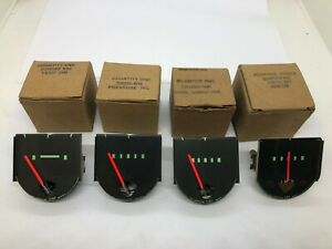 IHC International Harvester Pickup Travelall Fuel Temp Oil Ammeter Gauges NOS