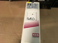 KEB Combivert Drive, needs repaired, 3hp, 3phase, 10.F4.F3D-A015