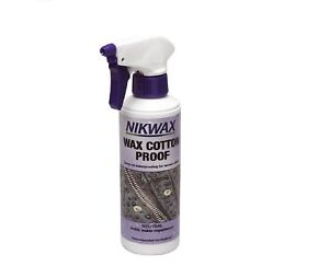 Nikwax Cotton Proof Waterproofer Spray For Waxed Clothes Waterproofing - 300ml