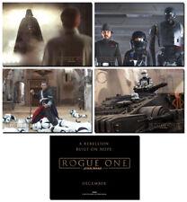 ROGUE ONE A STAR WARS STORY - 4 Card Promo Set #4 - Darth Vader Chirrut