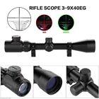 3-9x40 EG Red/Green Sniper Hunting Air Rifle Gun Optics Scope 20mm Rail Mount