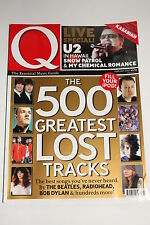 Q Magazine February 2007, U2/Kasabian/ELO Jeff Lynne/Amy Winehouse 1 pager