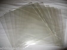 100 LOT Record Outer Plastic Sleeve Album JAPAN Import fold top Used Master LP