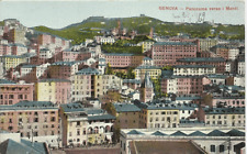 CARTOLINA GENOVA - PANORAMA VERSO I MONTI _ NON VIAGGIATA _ 1909