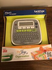 Brother Model Pt D200bt P Touch Electronic Labeling System Brand New Organize