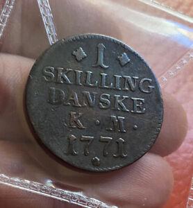 Denmark 1 Skilling 1771