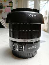 Objectif Canon EFS 18-55mm IS