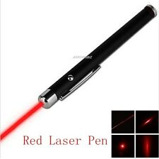 POWERFUL RED LASER LAZER POINTER PEN BEAM LIGHT PROFESSIONAL 1mW 650nm UK Stock