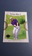 MICHAEL CLARK II 2001 UPPER DECK GOLF CARD # 160 B7296