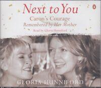 Gloria Hunniford Next To You Caron's Courage 3CD Audio Book Abridged