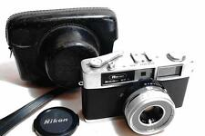 [EXC.++] Ricoh 35 S rangefinder Film Camera /40mm F2.8 [Tested] w/Leather Case