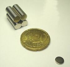 10 Neodym Super-Magnete 6 x 0,8 mm Magnet