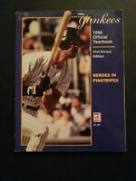 New York Yankees 1990 Official Yearbook 41st Annual Edition Heroes in Pinstripes