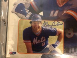 GARY CATER 1985 SIGNED SCORE BOOK