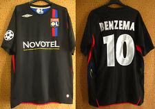 Maillot Umbro Olympique Lyonnais OL Lyon Benzema #10 Champions League UEFA - L