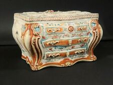 "Rare Antique Chinese Famille Rose ""Commode"" Bough Pot - Qianlong, circa 1770"