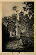 Hirsau bei Calw Schwarzwald alte Ansichtskarte ~1930 Partie am Kreuzgang Turm