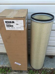 Kohler Generator Air Filter - Part # 279737 - Marine and Standby Applications