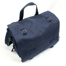 Brandit Large Canvas Bag - Blue - Satchel Shoulder Pack Military Army Cotton New
