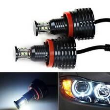 80W LED Angel Eye Halo Light H8 Bulb For BMW E90 E92 E82 E60 E70 X5 E71 X6 E89
