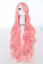 Y-301 Vocaloid Luka rose 100cm Cosplay Perruque perruque perruque Boucles Curls