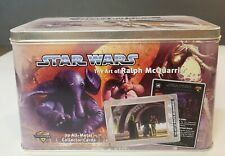 STAR WARS: THE ART OF RALPH MCQUARRIE 20 ALL METAL COLLECTOR CARDS