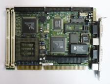 """IEI SSC-5X86H SSC5X86H 3.0 C SBC BOARD HALF SIZE CARD CPU LAN VGA PLC 3.5"""" PC US"""
