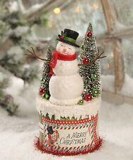 Bethany Lowe Retro Snowman On Box Tl7824 New