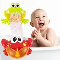 12 chanson musicale crabe machine à bulles machine à bulles bébé enfants bain SH