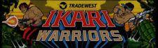 Ikari Warriors Arcade Marquee – 26″ x 8″