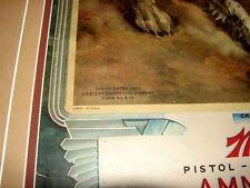 Western Ammo 1937 Calendar Print