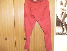 ladies size (med) active joe burgundy elastic waist pull tie pants