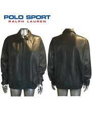 RALPH LAUREN POLO SPORT Leather JACKET MEN M