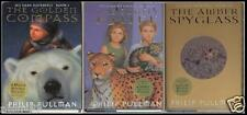 PHILIP PULLMAN ~ HIS DARK MATERIALS ~ BOOKS 1,2 &3 ~ W/O MAP ~ SLIPCASED ~ HC