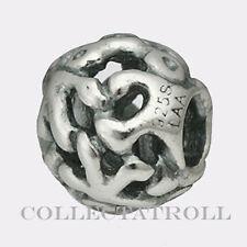 Authentic TrollBeads Silver Unity TrollBead **RETIRED**  TAGBE-20099  11266