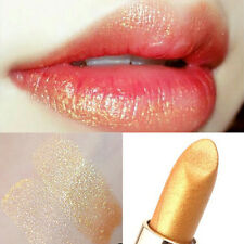 Mermaid Golden Lipstick Shimmer Gold Metallic Blam Long Lasting Eyeshadow New#