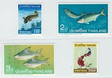 1967 Thailand Siam Stamp Thai Fishes Complete Set Mint MNH Sc#464-7