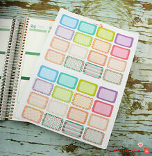 32 Half Box Life Planner Life Die-Cut Stickers for Erin Condren Planner BX1147
