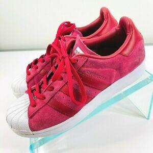 Adidas Womens US SIZE 7.5 Originals S76156 Superstar W Fashion Sneaker Magenta