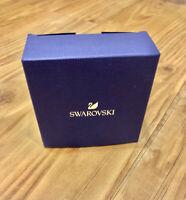 New in Box SWAROVSKI Elements Necklace Rhodium Trio Pendant Crystal #5568012